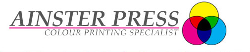 Ainster Press - Colour Printing Specialist